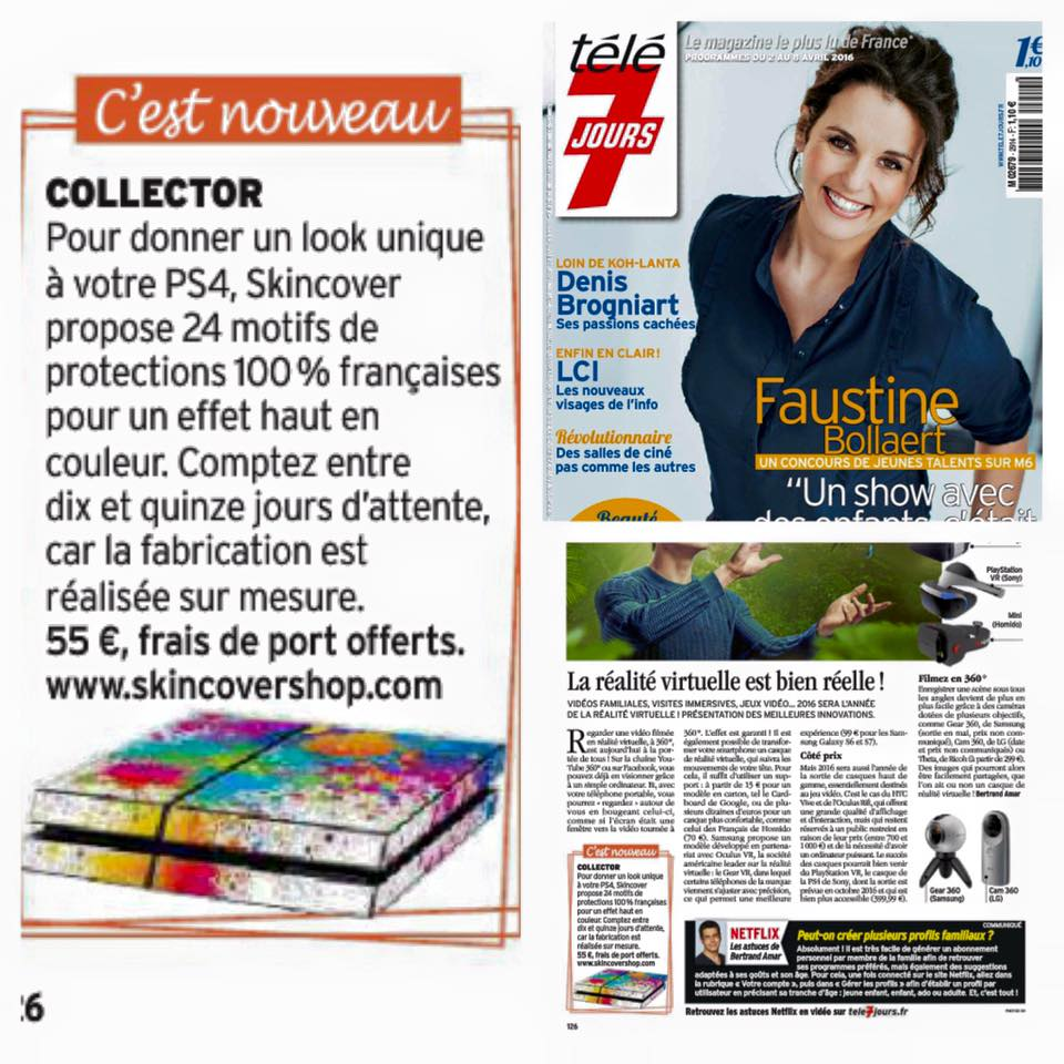Skincover TELE 7 JOUR