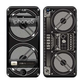 Skincover® iPhone 5 / 5S / 5SE - Ghetto Blaster