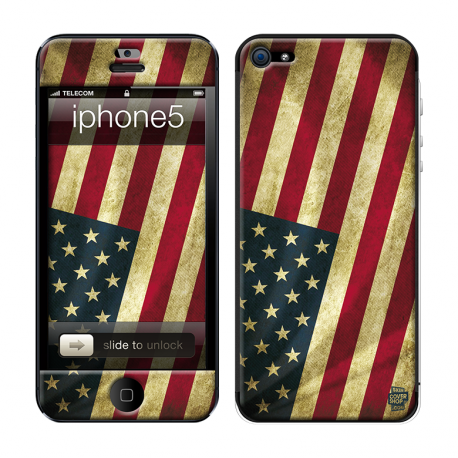 Skincover® iPhone 5 / 5S / 5SE - Old Glory