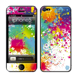 Skincover® iPhone 5 / 5S / 5SE - Abstr'Art