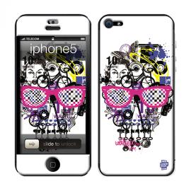 Skincover® iPhone 5 / 5S / 5SE - Skull & Art
