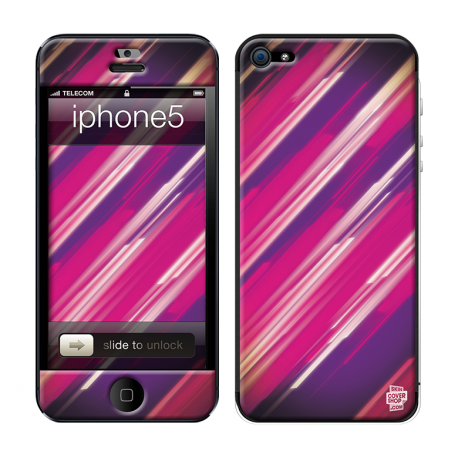 Skincover® iPhone 5 / 5S / 5SE - Girly Stripe