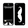 Skincover® iPhone 5 / 5S / 5SE - Moustache W&B