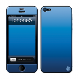 Skincover® iPhone 5 / 5S / 5SE - Blue