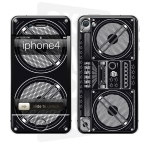 Skincover® iPhone 4/4S - Ghetto Blaster