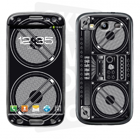 Skincover® Galaxy S3 - Ghetto Blaster