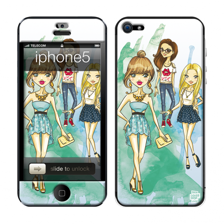 Skincover® iPhone 5 / 5S / 5SE - Gossip