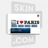 Skincard® I Love Paris White