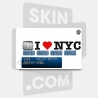 Skincard® I Love NYC White