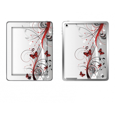Skincover® Ipad 2 / Nouvel Ipad - Butterfly