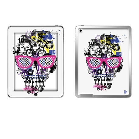 Skincover® Ipad 2 / Nouvel Ipad - Skull & Art