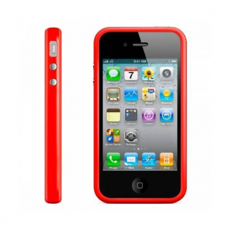 Bumper Rouge iPhone 4/4S
