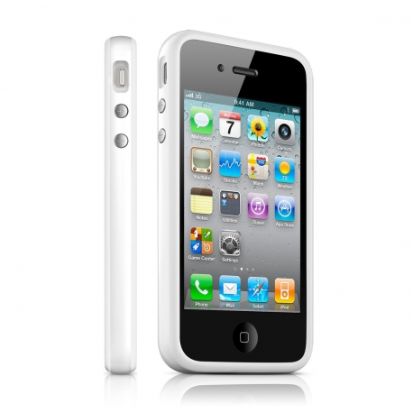 Bumper Blanc iPhone 4/4S