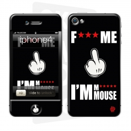Skincover® iPhone 4/4S - FM Mouse