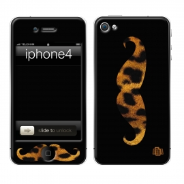 Skincover® iPhone 4/4S - Leo Stache