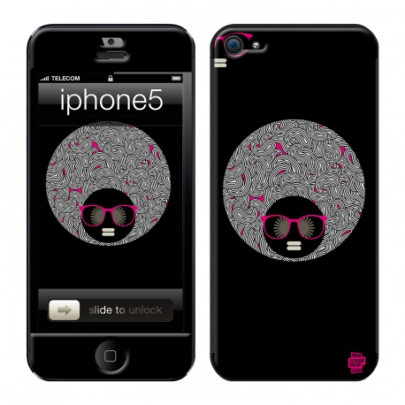 Skincover® iPhone 5 / 5S / 5SE - Afro Never Die