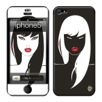 Skincover® iPhone 5 / 5S / 5SE - Black Swan
