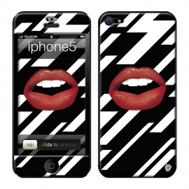 Skincover® iPhone 5 / 5S / 5SE - Rouge Eclair