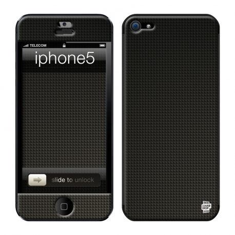 Skincover® iPhone 5 / 5S / 5SE - Carbon