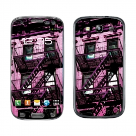 Skincover® Galaxy S3 - Ap'Art Pink By Paslier