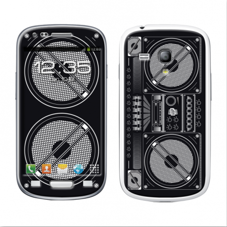 Skincover® Galaxy S3 Mini - Ghetto Blaster
