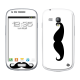 Skincover® Galaxy S3 Mini - Moustache W&B