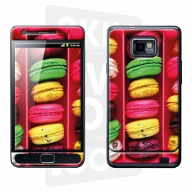 Skincover® Galaxy S2 - Macarons
