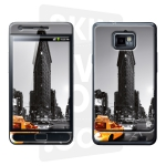 Skincover® Galaxy S2 - Taxi NYC By Paslier