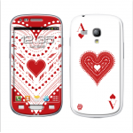 Skincover® Galaxy S3 Mini - Ace Of Heart