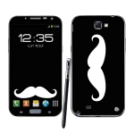 Skincover® Galaxy Note 2 - Moustache W&B
