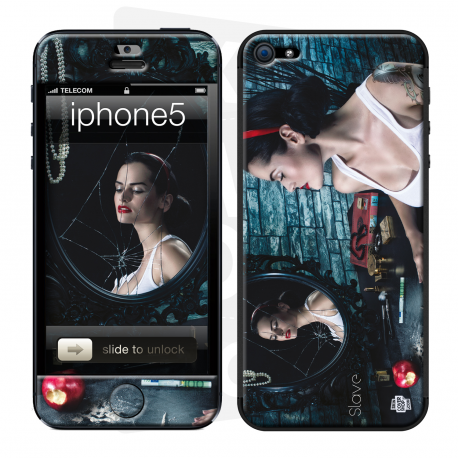 skincover® iPhone 5 / 5S / 5SE - Slave - Once Upon a Time - Blanche