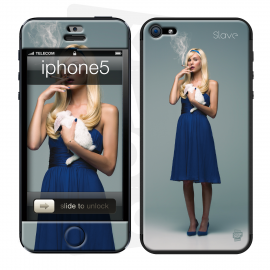 skincover® iPhone 5 / 5S / 5SE - Slave - Once Upon A Time - Alice