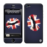 Skincover® iPhone 5 / 5S / 5SE - Lips England