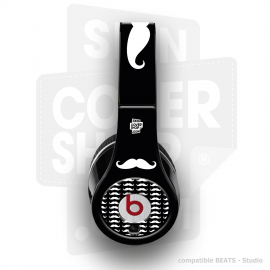 Skincover® Beats by Dre - Studio - Moustache W&B