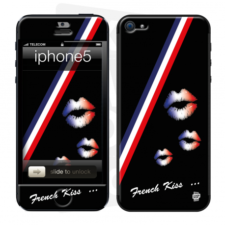 Skincover® iPhone 5 / 5S / 5SE - French Kiss