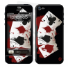 Skincover® iPhone 5 / 5S / 5SE - 4 Aces
