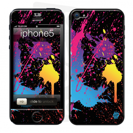 Skincover® iPhone 5 / 5S / 5SE - Abstr'Art 2