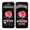 Skincover® iPhone 5 / 5S / 5SE - Apache Motor
