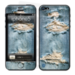 Skincover® iPhone 5 / 5S / 5SE - Blue Jeans