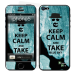 Skincover® iPhone 5 / 5S / 5SE - Bluesky