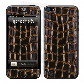 Skincover® iPhone 5 / 5S / 5SE - Crococuir