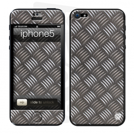 Skincover® iPhone 5 / 5S / 5SE - Metal 2