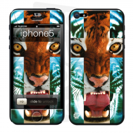 Skincover® iPhone 5 / 5S / 5SE - Tiger Cross