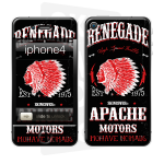 Skincover® iPhone 4/4S - Apache Motor