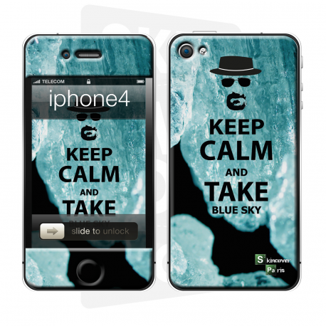 Skincover® iPhone 4/4S - Bluesky