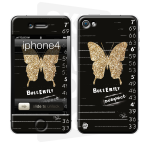 Skincover® iPhone 4/4S - Butterfly Suspect By Paslier