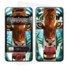 Skincover® iPhone 4/4S - Tiger Cross