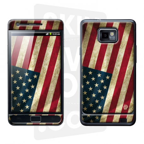 Skincover® Galaxy S2 - Old Glory