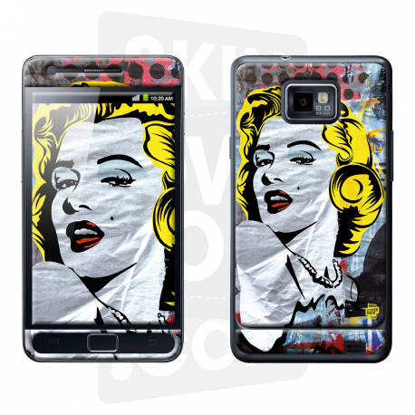 Skincover® Galaxy S2 - Marilyn By Paslier