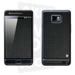 Skincover® Galaxy S2 - Carbon